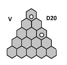 Jeu d Hex D20